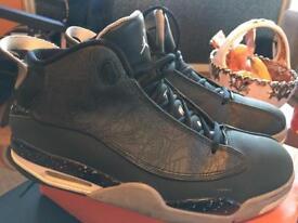 Air Jordan size 10uk grey-black