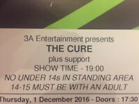 The Cure tickets Thurs 1 Dec London