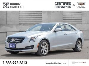 2016 Cadillac ATS 2.0L Turbo 2.99 % FOR 60 MTHS OAC