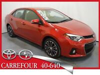 2014 Toyota Corolla S Premium Cuir+Mags+Toit Ouvrant