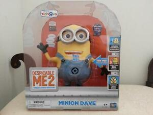 BNIB Despicable Me 2 Collectors Editions Minion Dave