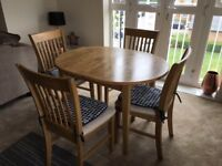 2 Sofas & Dining Table & Chairs