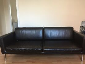 Two black sofas NEED GOING ASAP