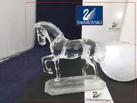 Swarovski Crystal Stallion Arabian Horse 221609 / 7612 000 002 MINT Boxed COA.