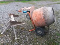 Belle Electric Cement Mixer & Stand