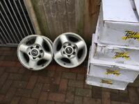 """Navara d22 16"""" alloy wheels"""