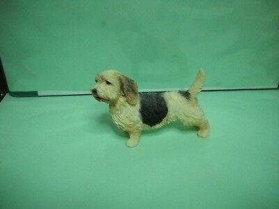 Petit Basset Griffon Vendeen Dog Figurine, 3'' X4', Hand Painted'