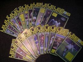 Football Programmes Leeds United 1980/81 Season