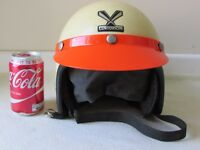 Centurion Vintage helmet with peak collectable decorative crash helmet