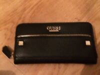 Genuine Black leather Guess purse. Brand new & never used but labels have been removed.
