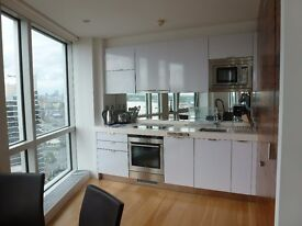 DIRECT RIVER VIEW 1 BEDROOM APARTMENT IN ONTARIO TOWER E14 CANARY WHARF