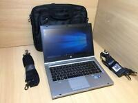 "HP Elite Book 8460p 14"" Core i5 2540, 1 TB HDD, 8 GB RAM, Windows 10 Pro, Office 2013, With New Bag"