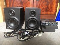 Mackie Monitors & Focusrite Soundcard bundle £200
