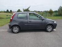 04) FIAT PUNTO 1.2 ACTIVE 3dr GREY MET MAY 2017 MOT PAS , Ew ,STEREO EXCELLENT RUNNER GOOD CONDITION