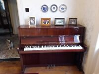 Piano Ronisch 30 years old, one owner from new. Needs tuned.