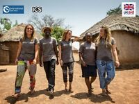 Volunteer overseas on a UK Government funded ICS placement this September