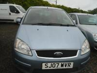 FORD FOCUS C-MAX 1.6 Zetec 5dr MOT JANUARY 2019, A NICE LITTLE RUNNER, WORTH A LOOK (blue) 2007