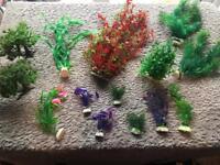 Aquarium plastic Fish tank plants