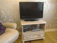 TV / Video Unit Hand Painted Decoupage, Solid Wood £40 ono