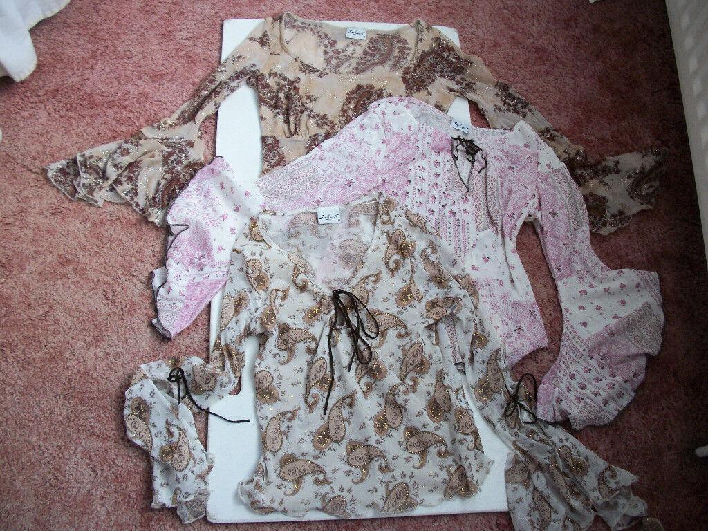 Select blouses (3)