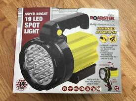 19 led spotlight torch