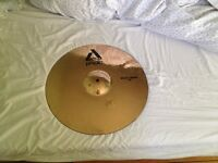 "Paiste Alpha Cymbals x 2 17"" and 19"" Rock Crash SELLING BOTH AS A SET **CRACKED**"