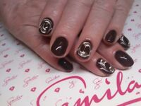 Gel polish manicure Semilac lasting 2 weeks + ,stunning disigns, arts, wide choices of colours