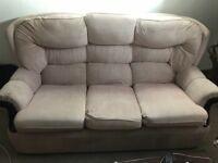 FREE three seater sofa.