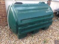 Used Kerosene oil tank/ water tank 1000 L