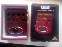 Behringer ADI-21 Acoustic Amp Modeler/ DI