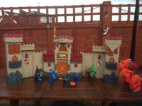 Fisher Price-Imaginext Castle, Accessories and Dragon