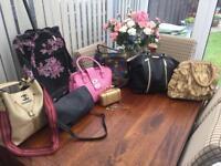 Handbags Joblot & Suitcase