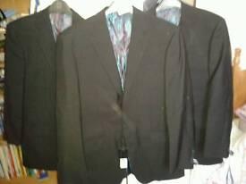 Various Jacamo suit jackets & trousers Job lot