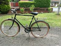 Raleigh Chiltern hybrid bike stunning retro style bike