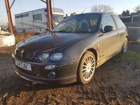 MG ZR 1.8VVC 160 Hatchback 3D SPARE OR REPAIR