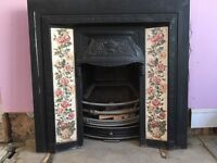 Victorian cast iron fireplaces