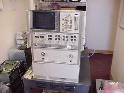 Hpagilent 8510c Hp 85107b Vector Network Analyzer 45mhz To 50ghz With Opt-10