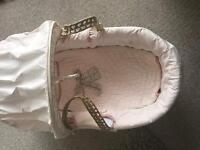 Mammas and Pappas Moses Basket with Stand