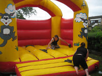 2 bouncy castles for sale
