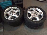 "MG Rover 15"" Alloy Wheels"