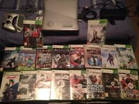Xbox360 with games for sale