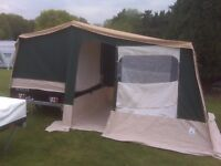 RACLET MOOVEA 2011. Trailer tent for sale
