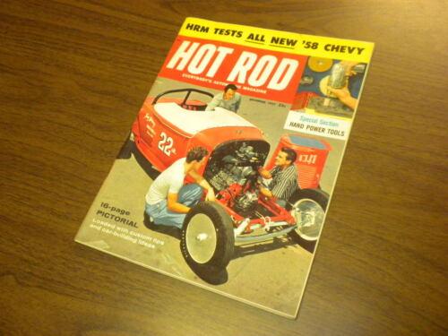 HOT ROD magazine 1957 December