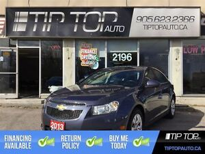 2013 Chevrolet Cruze LT Turbo ** Bluetooth, Low Kms, Well Equipp