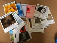 British Journal of Photography magazines for collection only