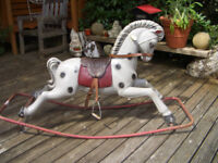 Vintage 1960's Triang Rocking Horse