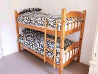 Bunk beds with healthopedic mattresses