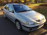 Renault megane 1.6 petrol 1year mot great condition drives very well