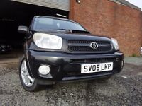 05 TOYOTA RAV 4 2.0 DIESEL 4X4,MOT SEPT 017,PART HISTORY,2 KEYS,3 OWNERS FROM NEW,VERY RELIABLE 4X4