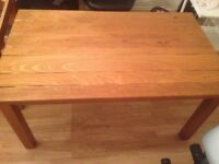 Solid Oak Tables 4 Available 150cm wide,91cm Deep ,4cm Thick, Very Heavy Ideal For Restaurant